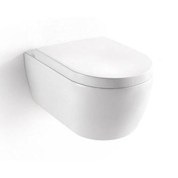 neg h nge wc uno11 tiefsp ler toilette mit geschlossenem untersp lrand duroplast soft close. Black Bedroom Furniture Sets. Home Design Ideas
