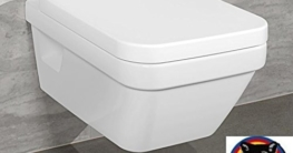 Villeroy & Boch Wand-WC Combi-Pack Architectura PLUS , DirectFlush, Spülrandlos C-plus -