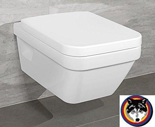 Villeroy & Boch Wand-WC Combi-Pack Architectura PLUS , DirectFlush, Spülrandlos C-plus -